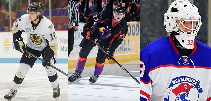 Three Future Men S Hockey Players Selected On Day Two Of The 2018
