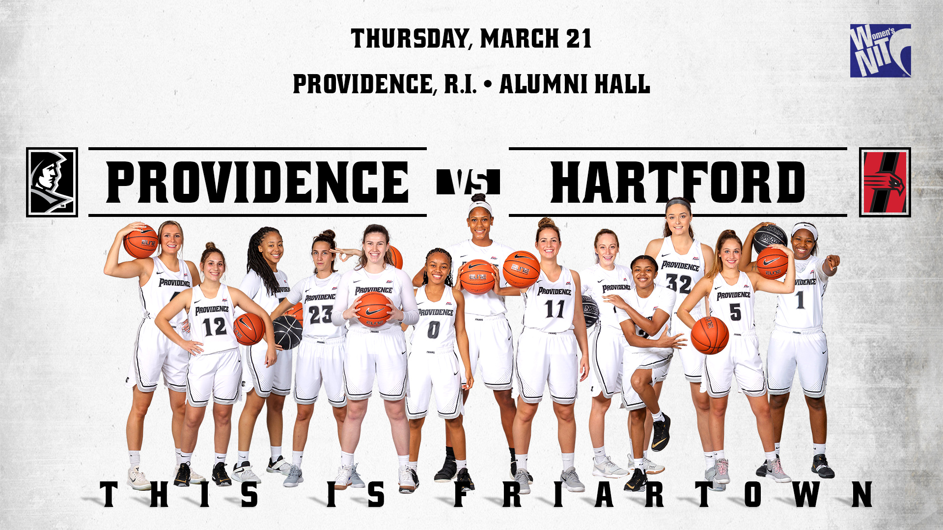 watch e1e70 3752d Women's Hoops To Host Hartford In WNIT First Round ...
