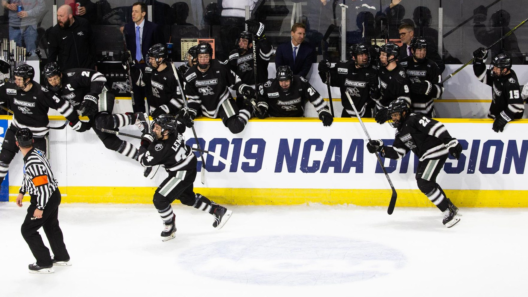 Men S Hockey To Clash With Minnesota Duluth In Frozen Four
